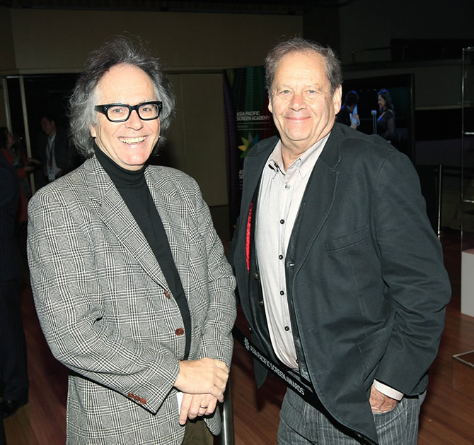 Phil meets Australian film director Bruce Beresford