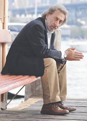 Booker Prize-winning author Howard Jacobson
