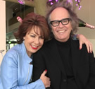 Phil Brown meets expat author Kathy Lette in Brisbane